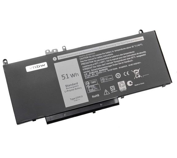 Akku für Dell E5450 Latitude 3150 3160 E5250 E5450 E5550 6MT4T 8V5G(Ersatz)