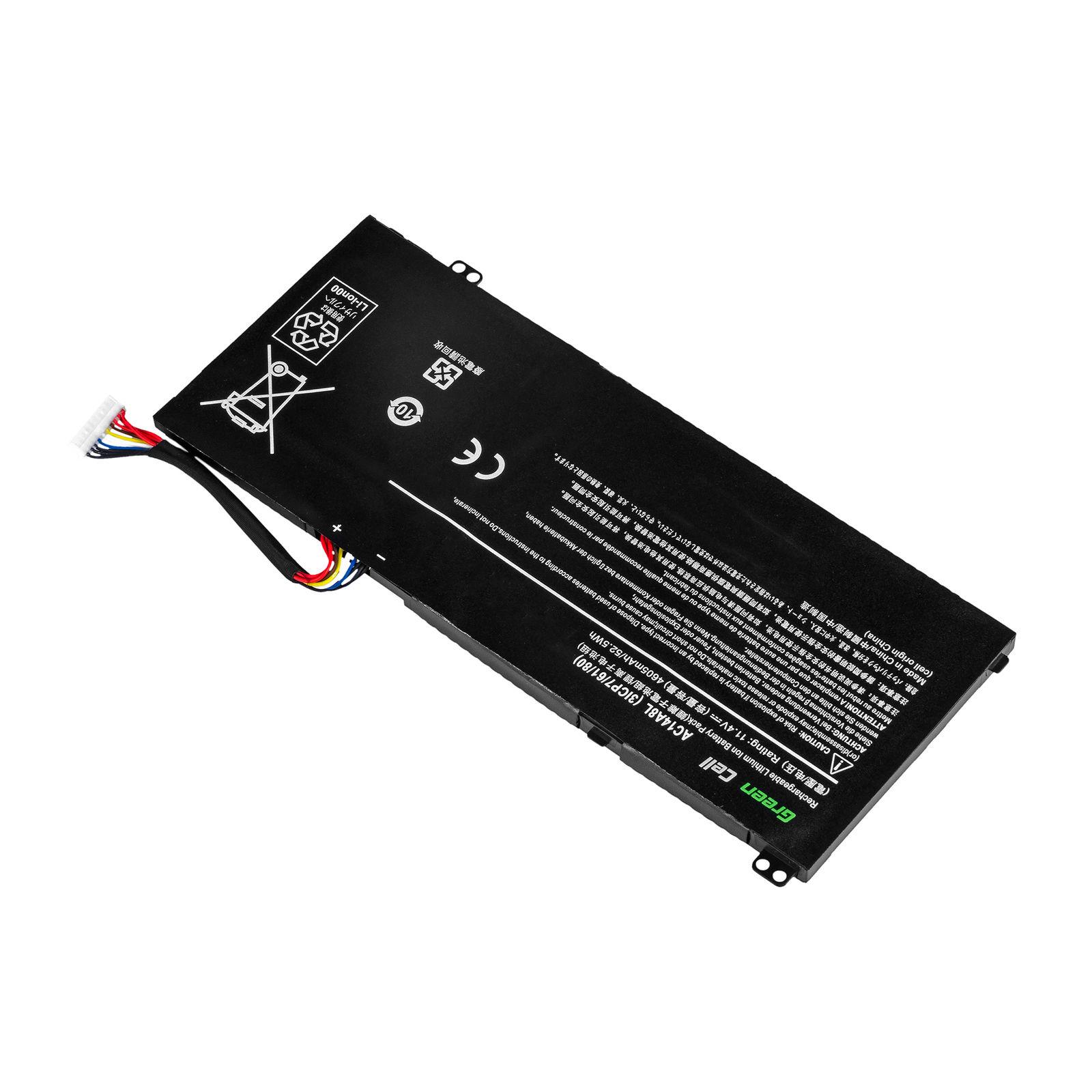 Akku für Acer V15 Nitro Aspire VN7-571 VN7-572G VN7-791 VN7-591(Ersatz)