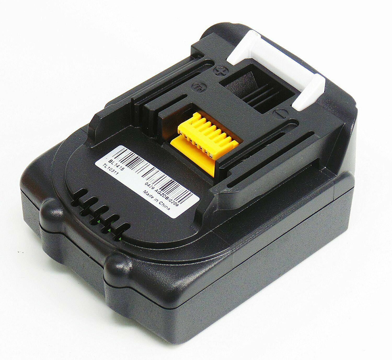 Akku für 14,4V 6,0Ah Makita BL1415 BL1430 BL1440 BL1450 BL1460 LXT Li-Ion 6000mAh(Ersatz)