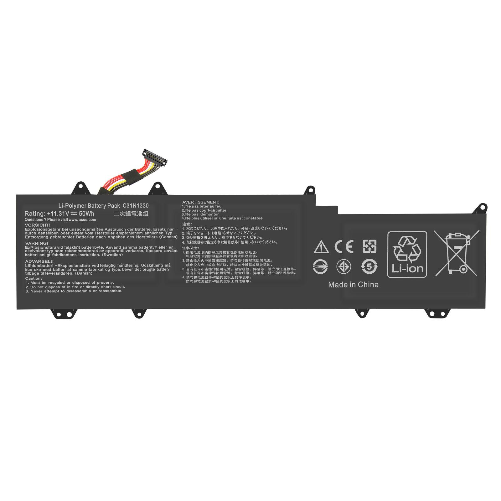 Akku für Asus ZenBook UX32L UX32LA UX32LN C31N1330 C31Po95 4400mAh(Ersatz)
