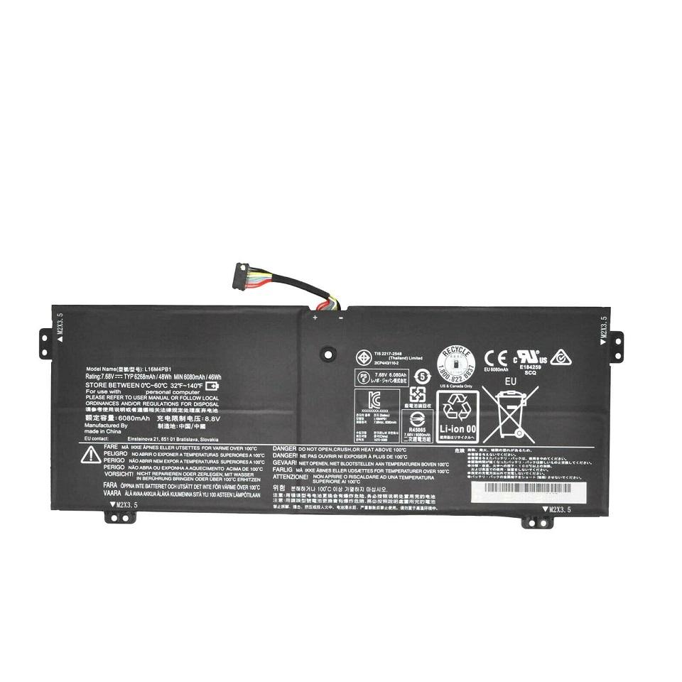 Akku für pour L16C4PB1 L16L4PB1 L16M4PB1 Lenovo YOGA 720-13IKB 730-13IKB(Ersatz)