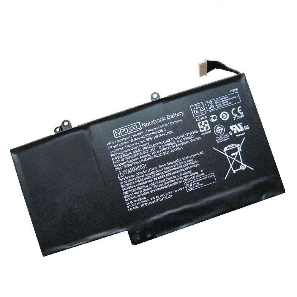 Akku für HP Envy X360 13-B102TU TPN-Q146 TPN-Q147 NP03XL(Ersatz)