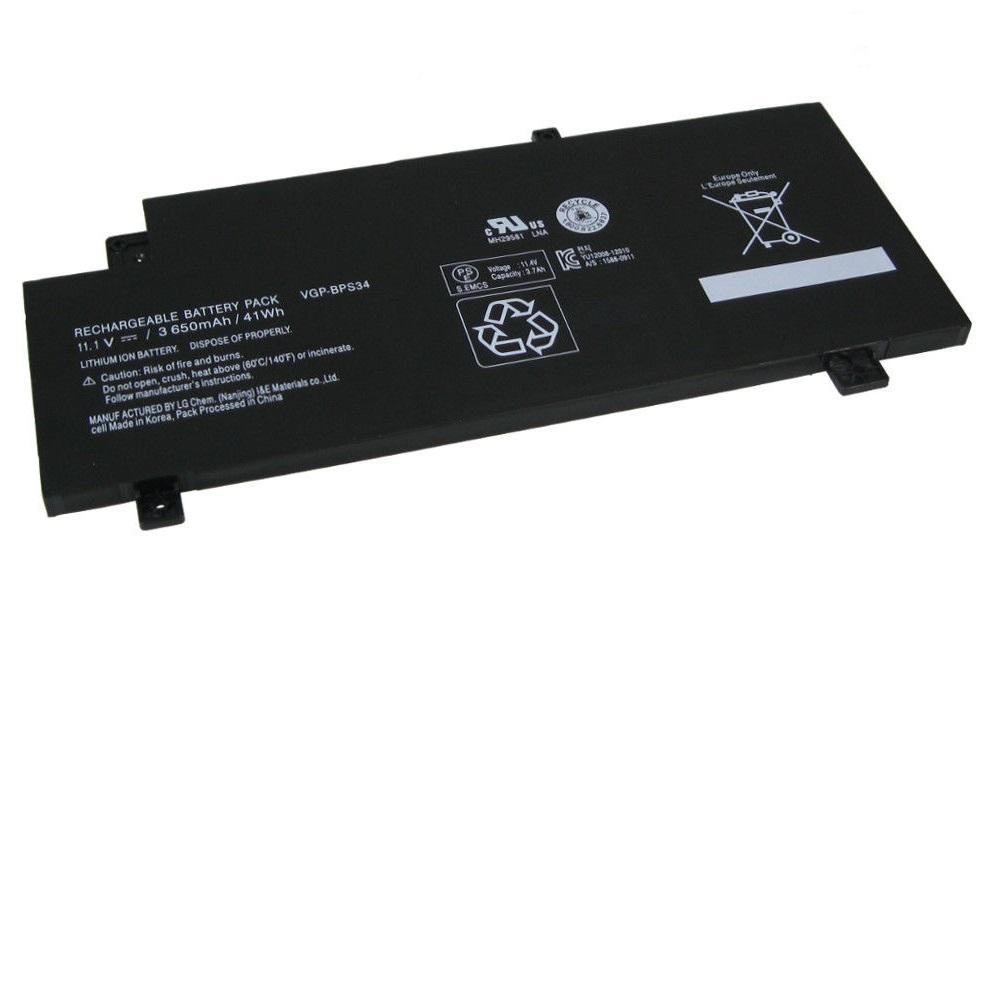 Akku für Sony Vaio Fit 15 SVF15A1C006W SVF15A1C5E SVF15A1C5EB(Ersatz)